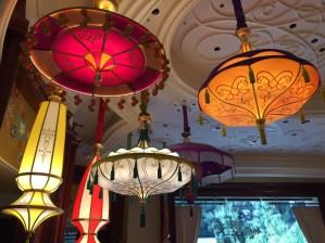 Parasol lounge at the Wynn