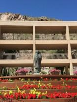 Alan Houser sculpture at the Phoenician Resort