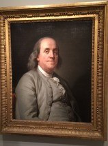 Yes, this should look familar, as this portrait was selected as the basis for the $100 bill