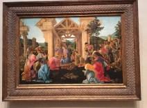 The Adoriation of the Magi - Botticelli