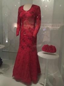 Laura Bush, Inaugural Gown by Michael Faircloth (2001)