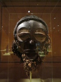 Face Mask (ewo), Congo & Angola, refers to adult woman who has given birth, , half-closed eyes reflect introspection