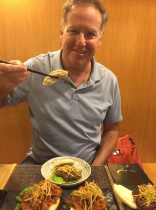 Dave's favorite 'hot buns' at Sakuramen!