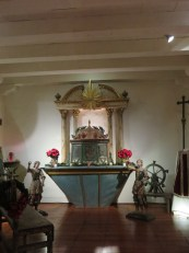 Altar with Tabernacle on top with a Retablo in back (1786)