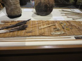 Only Chumash arrow making kit ever found, ~ 200 years old
