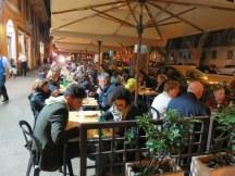 Outdoor dining, Ai Marmi.