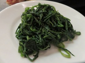 Certainly we have to have our greens, too. Cicoria, our favorite Italian veg.
