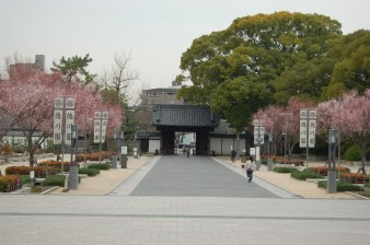 Kuro-mon, or the black gate, a valuable structure that retains the vestiges of a samurai residence