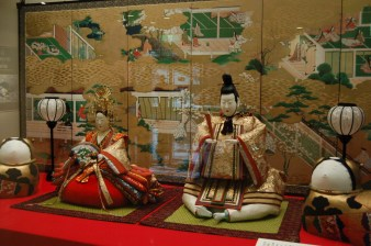 The Emperor and Empress Doll, which was the only one available for photo taking