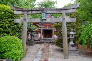 Inari Shrine, promises to bring good fortune