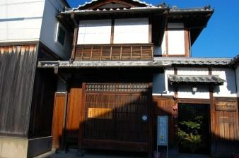 Naramachi Koshi-no-ie lattice house, features typical merchants' house interior