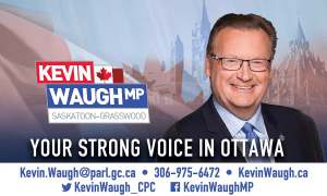 Kevin Waugh, MP Saskatoon-Grasswood
