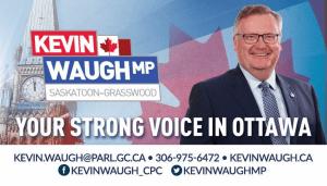 Kevin Waugh, MP for Saskatoon-Grasswood