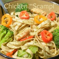 "Chicken ""Scampi"""