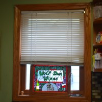 New Blinds in the Kitchen