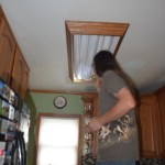 Replacing The Overhead Florescent Light In The Kitchen Our Wolf Den