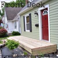 Building a Front Deck
