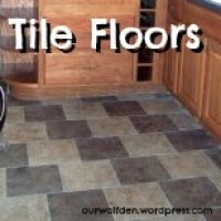 First tiling job