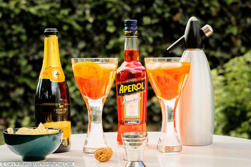 Aperol Spritz - a burst of Italian evening sunshine in a glass