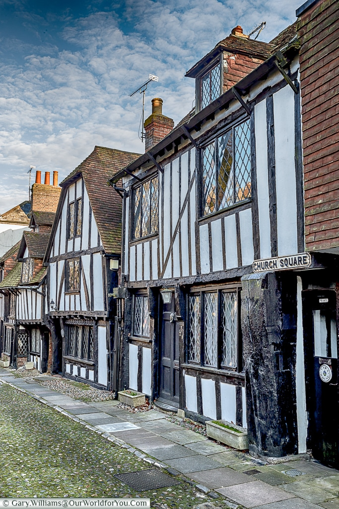 Church Square, Rye, East Sussex, England, UK