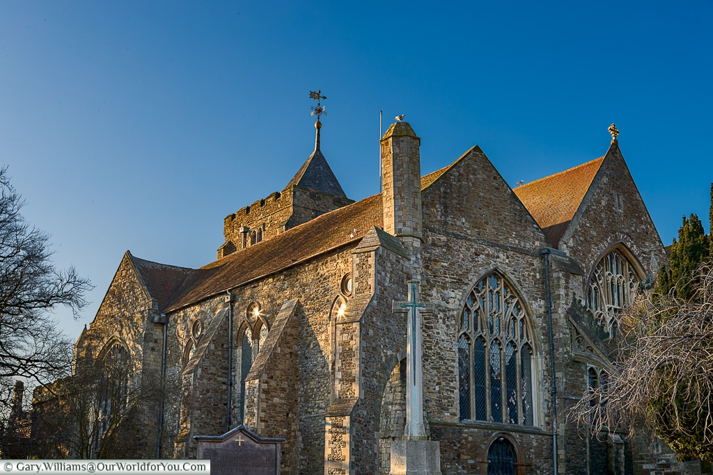 St Mary the Virgin Church, Rye, East Sussex, England, UK
