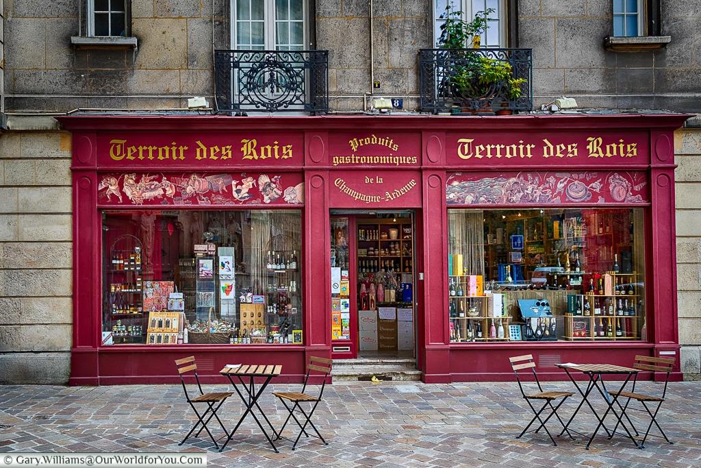 Supplies, Reims, Champagne Region, France