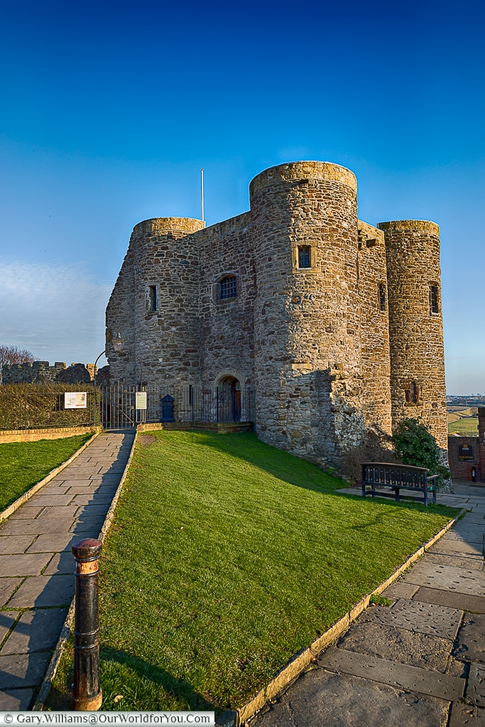 The Ypres Tower, Rye, East Sussex, England, UK