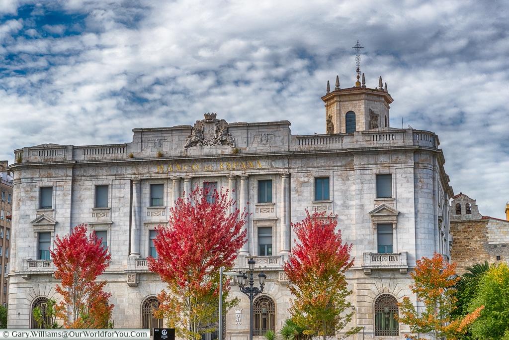 Bank of Spain, Santander, Spain