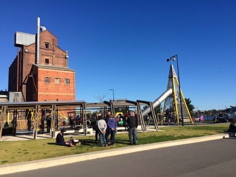 Hart Mill and its playground