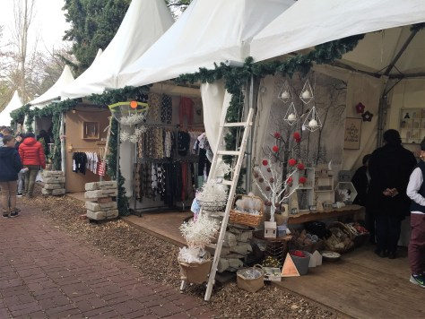 Small stalls showing their good for sale
