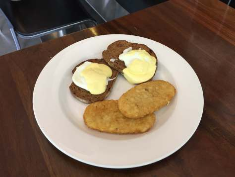 Milano Cuccina Eggs Benedict