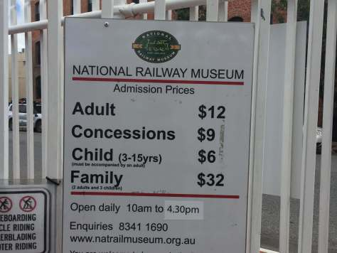 National Railway Museum Prices