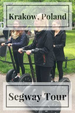 Looking for a fun tour to around Krakow? Then make sure you do a 90 minute Segway Tour
