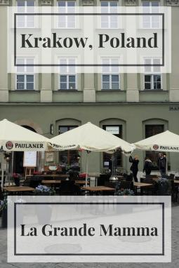 Looking for a place to eat in old town Krakow? Then try La Grande Mamma in the main square for decent Italian food.
