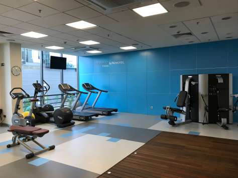 What the gym like at the Novotel Sofia