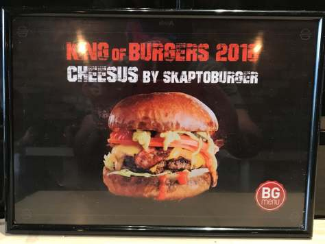 Who won the King of Burgers award in 2016?