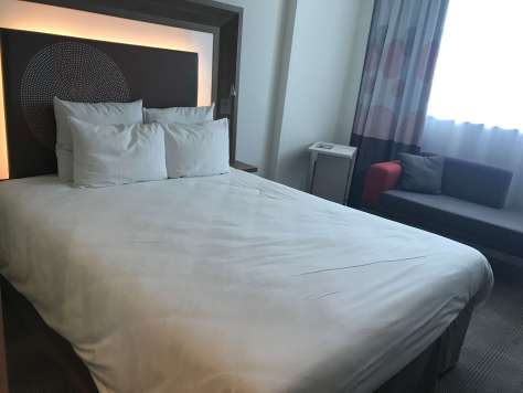 What does the Novotel Sofia Superior room look like?