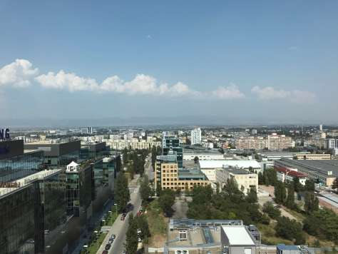 What's the view like from the Novotel Sofia