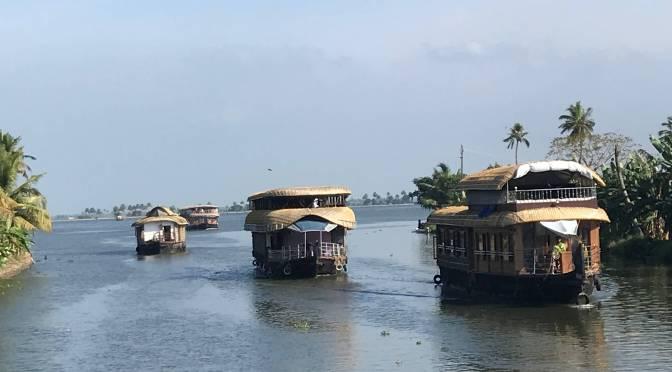 Cosy Houseboats in Kerala