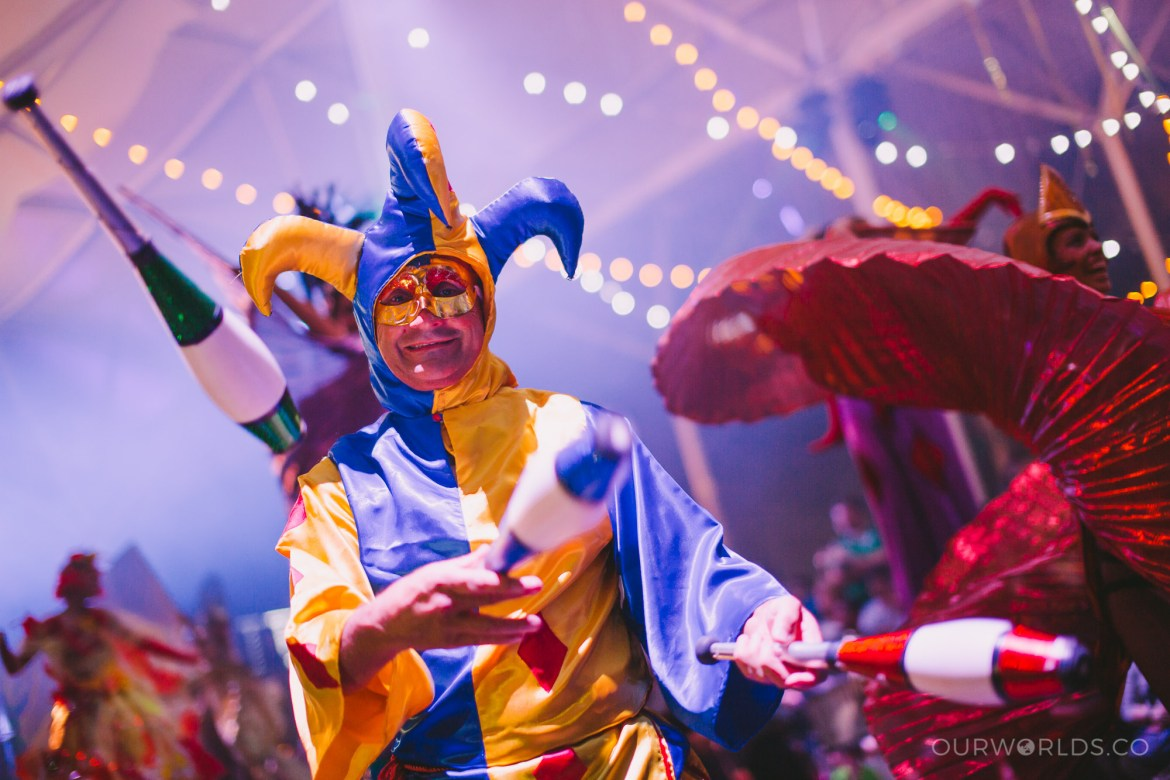Get your party on, because Carnivale will have you tapping your feet well after the night's over.