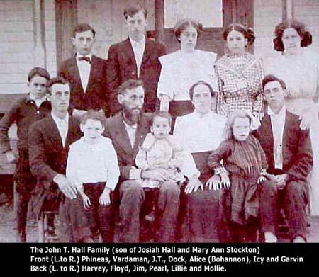 j-t-hall-family