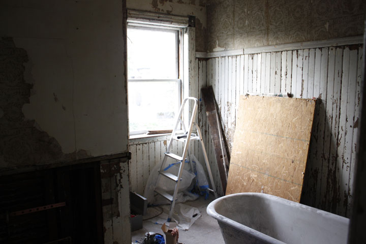 secondary bath in progress