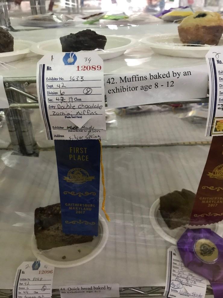 Wixson, Mary Double Chocolate Zucchini Muffins