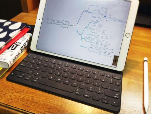 iPad Proのsmartkeyboardを使ったらマインドマップ『Mindnode』でよりアイデアを整理する効率が上がった。