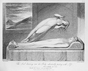 Schiavonetti, Soul Leaving the Body, 1808