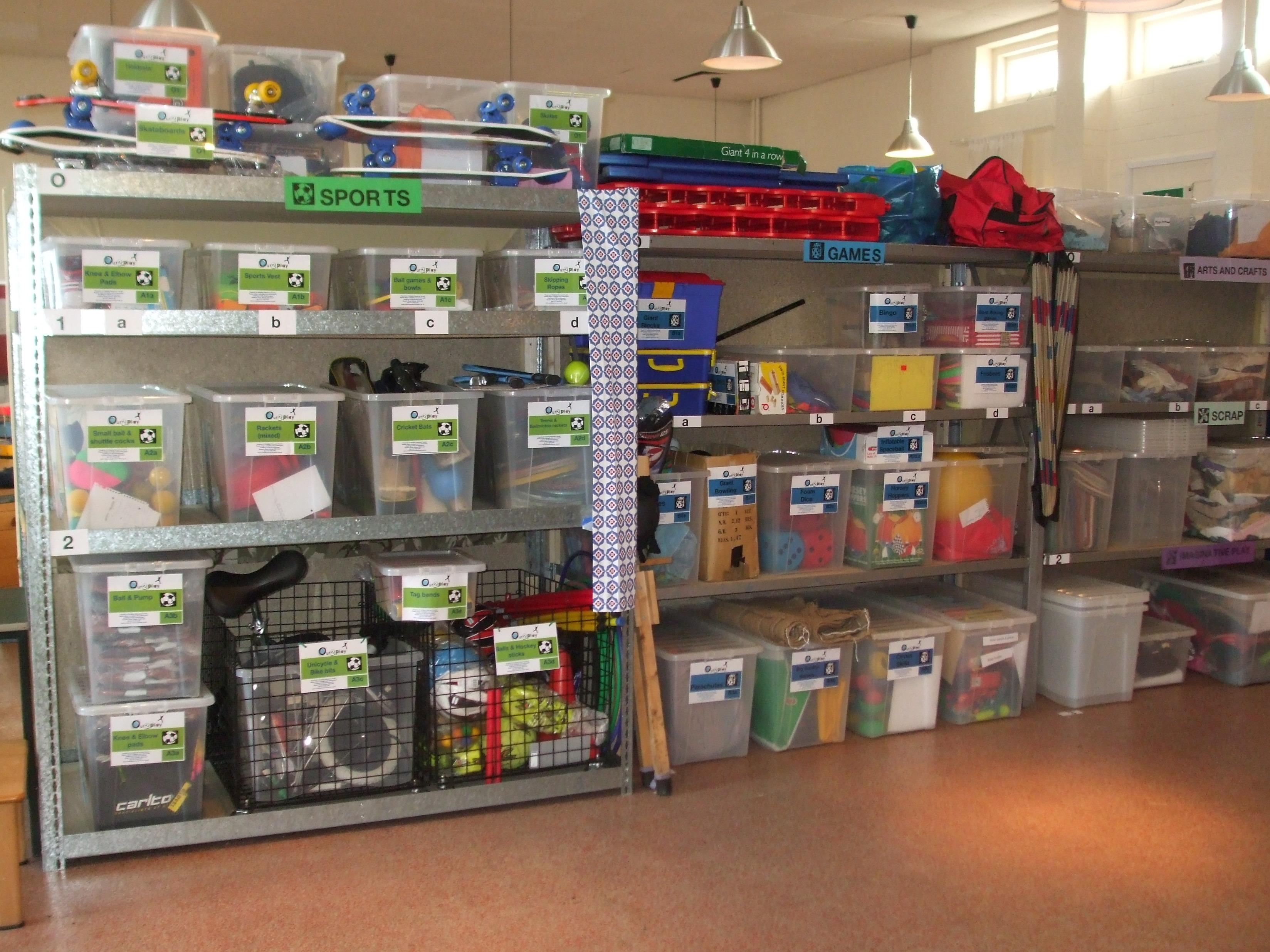 resourcecentre shelves