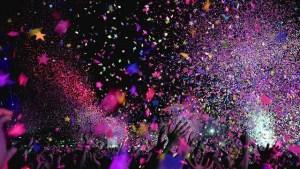 TRNSMT Concert Confetti