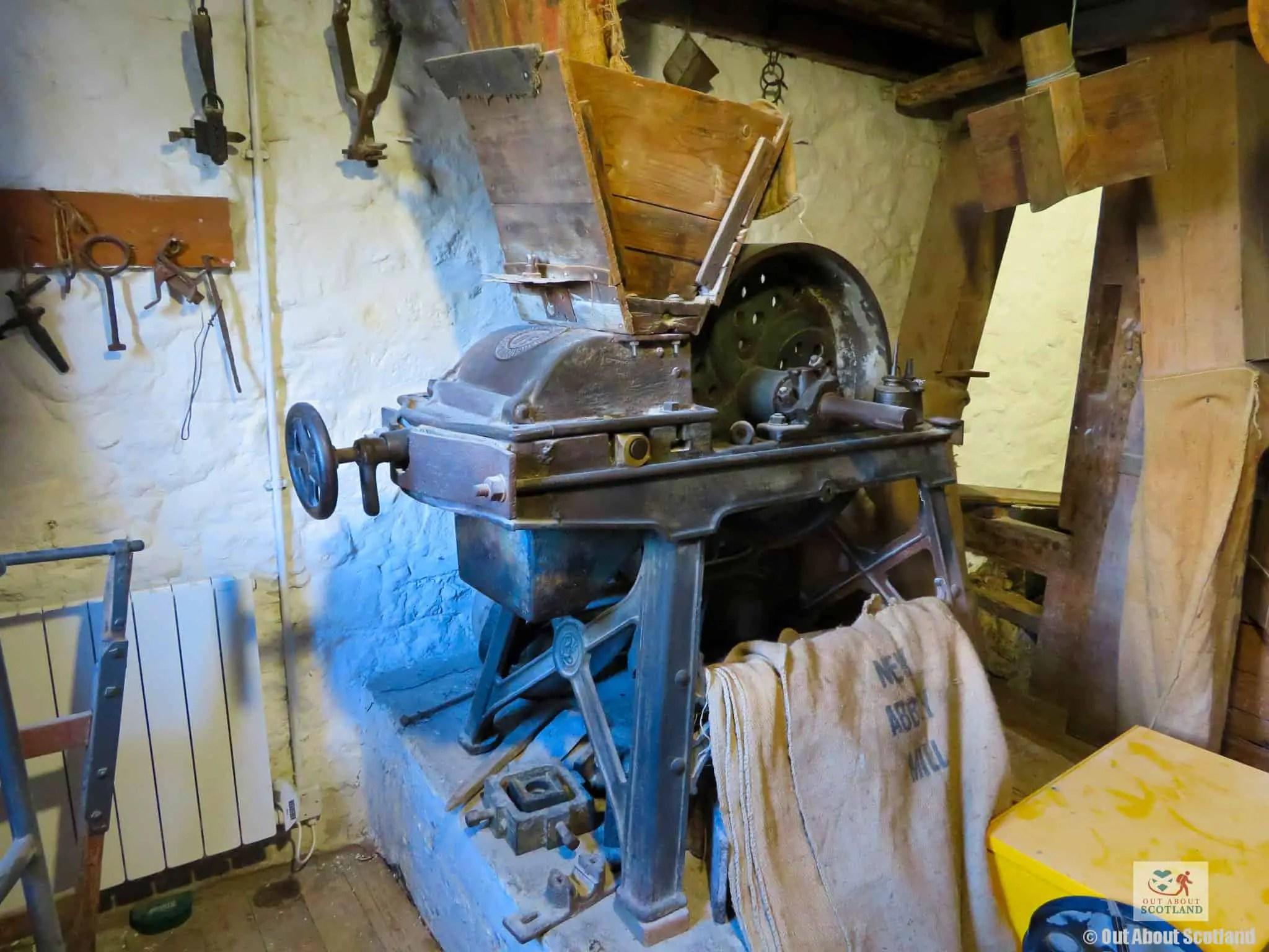 New Abbey Corn Mill grain hopper