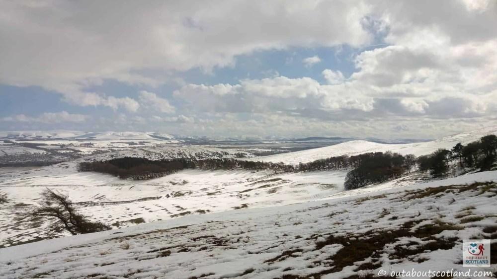 Views towards Midlothian