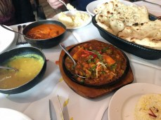 Mumbai lounge curries and daals